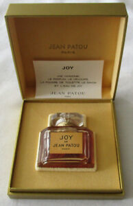 No Reserve Joy by Jean Patou Vintage Pure Perfume Sealed Bottle 1/2 oz 15 ml Box
