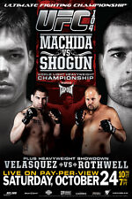 UFC 104 Lyoto Machida vs Shogun Mauricio Rua Sports Poster 12x18