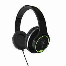 Flips Audio FH2814BK Collapsible HD Headphones and Stereo Speakers, Black