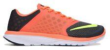 Mens Nike FS LITE RUN 3 Size10 Athletic Running Shoes HYPER ORANGE-WHITE New