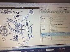Peugeot 406 MK2 Turbo Diesel Motor Driven Arnés De Ventilador del refrigerante 126796 Nuevo