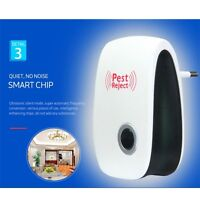 Electronic Ultrasonic Mosquito Pest Reject Bug Cockroach Mouse Killer Repeller