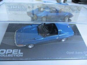 1:43 OPEL COLLECTION Opel Aero GT 1969, unbespielt in der Box  !!!