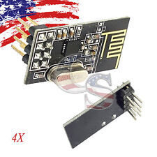 4X 4PCS Arduino NRF24L01+ 2.4GHz Wireless RF Transceiver Module New