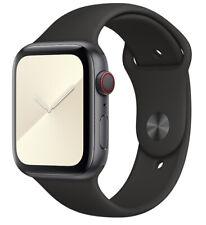 Original Apple Watch Series 2 3 4 5 MU9L2ZM/A Schwarz Sport Sportarmband 42/44mm