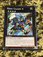 YUGIOH GEAR GIGANT X SECRET NEAR MINT 1ST ED REDU-EN046