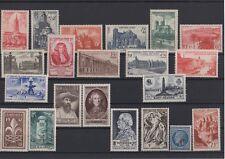 1947 -  Année complète, neufs avec charnière   (06-003.18)