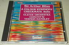 SIR ARTHUR BLISS-A COLOUR SYMPHONY-FULL SILVER RING CD 1987-VERNON HANDLEY-RARE