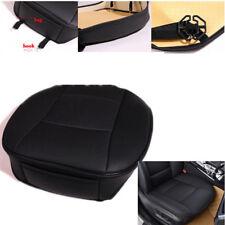 Asiento de coche proteger Cubierta Cojín Pad Negro Cuero PU Estera Protector Completo De Sonido Envolvente