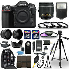 Nikon D500 DSLR Camera + 18-55mm VR NIKKOR Lens + 30 Piece Accessory Bundle