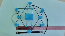 "X6MR FPV Micro HexCopter Kit, 230mm 4"" Prop , 3D Print w/Carbon Fiber Tubes/Rods"