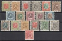 BB5630/ ICELAND – 1907 / 1918 MINT SEMI MODERN LOT - CV 340 $