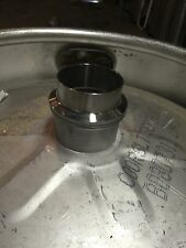 "Beer Keg Still Adapter Kit 2"" Tri Clamp Ferrule, & Gasket for Distilling Column"