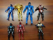 Power Rangers Movie -  Lot Of  Blue Red Goldar ninja Loose Figures