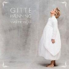 """GITTE HAENNING """"WAS IHR WOLLT"""" CD NEU"""