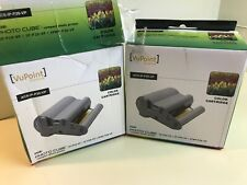 2x VuPoint Solutions Color Cartridge ACS-IP-P20-VP Photo Cube, Compact Printer