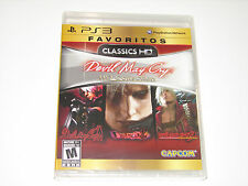 PLAYSTATION 3 PS3 GAME DEVIL MAY CRY HD COLLECTION BRAND NEW & SEALED