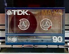 TDK MA-XG 90 METAL - New Sealed Ultra Audiophile Cassette Tape