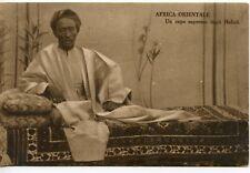CARTE POSTALE / AFRICA / AFRIQUE ORIENTALE UN CAPO SUPREMO DEGLI HABAB