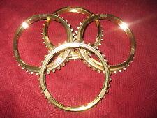 66-74 Muncie Synchronizer Rings 304701A  WT297-14A  (Full Set of 4)