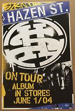 BAD BRAINS Madball BOX CAR RACER HAZEN STREET Rare PROMO TOUR POSTER of 2004 CD