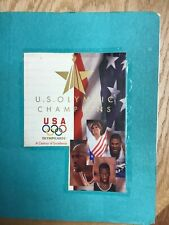 1996 Upper Deck U.S. Olympic Moments Future Champions 135 Card Set Hand Collated
