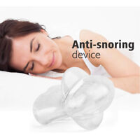 Anti Snoring Tongue Device Silicone Sleep Apnea Aid Stop Snore Stopper Sleeve