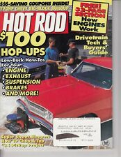 HOT ROD 1995 JUNE - DRIVE TRAIN SPECIAL, GT350, How Engines Work ! Chevy /q4