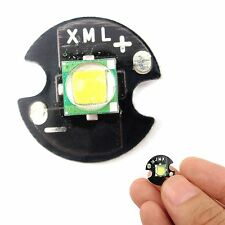 Single-Die XM-L T6 LED 10W High Power Chip16mm Round Base for DIY White
