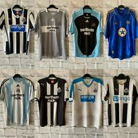Newcastle United Football Shirt, Many Seasons, All Sizes