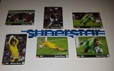 Panini EM 2012 Coca Cola Neuer Heldentat komplett Uefa Euro 12 Sticker 1 bis 6