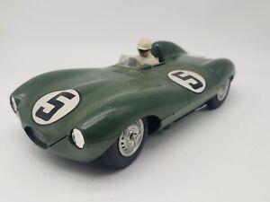 STROMBECKER 1/24 JAGUAR D #5 Used Racer Green
