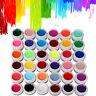 36 Pure Colorati Gel UV Ricostruzione Unghie Nail Art Manicure Decorazione 5ML