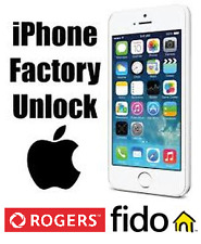 Rogers and Fido iPhone Factory Unlocking - All Models
