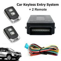Remote Control Car Anti-Theft Central Locking Security System Keyless Entry Kit