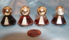 4 Little Jewel Mini Perfme Bottles ~ By AVON   Hers - Persian - Topaz +  1950's