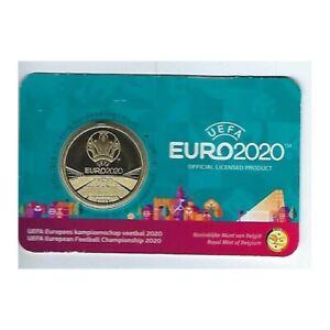 BELGIQUE 2021 2.50 EURO FOOT EURO 2020 VERSION FLAMAND
