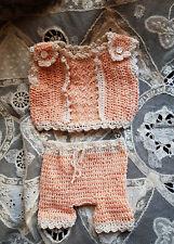 ensemble corset et bloomer poupée ancienne