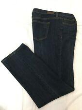 (*-*) LIZ CLAIBORNE * Womens CITY FIT STRAIGHT Blue Jeans * Size 16 * NWT