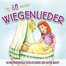 Die 40 besten Wiegenlieder  CD NEU & Eingeschweißt