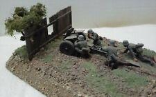 New ListingBuilt 1/35 German 75mm gun diorama