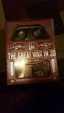 The Great War In 3D New 1914-1918 History Stereoscopic Viewer Photos Book