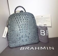 Brahmin NWT Rosemary Jasper Melbourne Leather Backpack Handbag