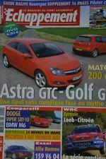 ECHAPPEMENT 455 / JUIL 05 : BMW M6 DODGE VIPER SRT 10 ALFA ROMEO 159 3.2 JTS V6
