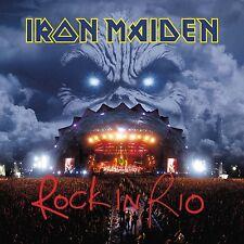 IRON MAIDEN - ROCK IN RIO (2017 REM. 180 GR)  3 VINYL LP NEUF