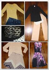 10 pc Womens Fall Clothing Lot Sz 6 Medium Career/Casual Seven Max Studio Vera