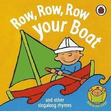 Row, Row, Row Your Boat (Rhymes), Marjolein Pottie, New Book