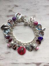 Ariana Grande New photo charm bracelet.Sweet girls birthday. free gift bag love