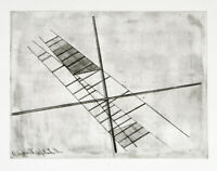 Bauhaus 1923/1995. Zinkgravur a.d. Nachlass Laszlo MOHOLY-NAGY (1895-1946 HUN)
