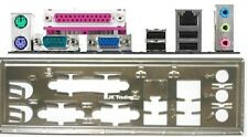 ATX panneau I/O shield Gigabyte Io 8ip775-g neuf emballage d'origine #186 Io Bracket Backplate New
